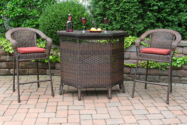 outdoor wood and furniture what type of outdoor patio furniture is best for hotels and resorts. Black Bedroom Furniture Sets. Home Design Ideas